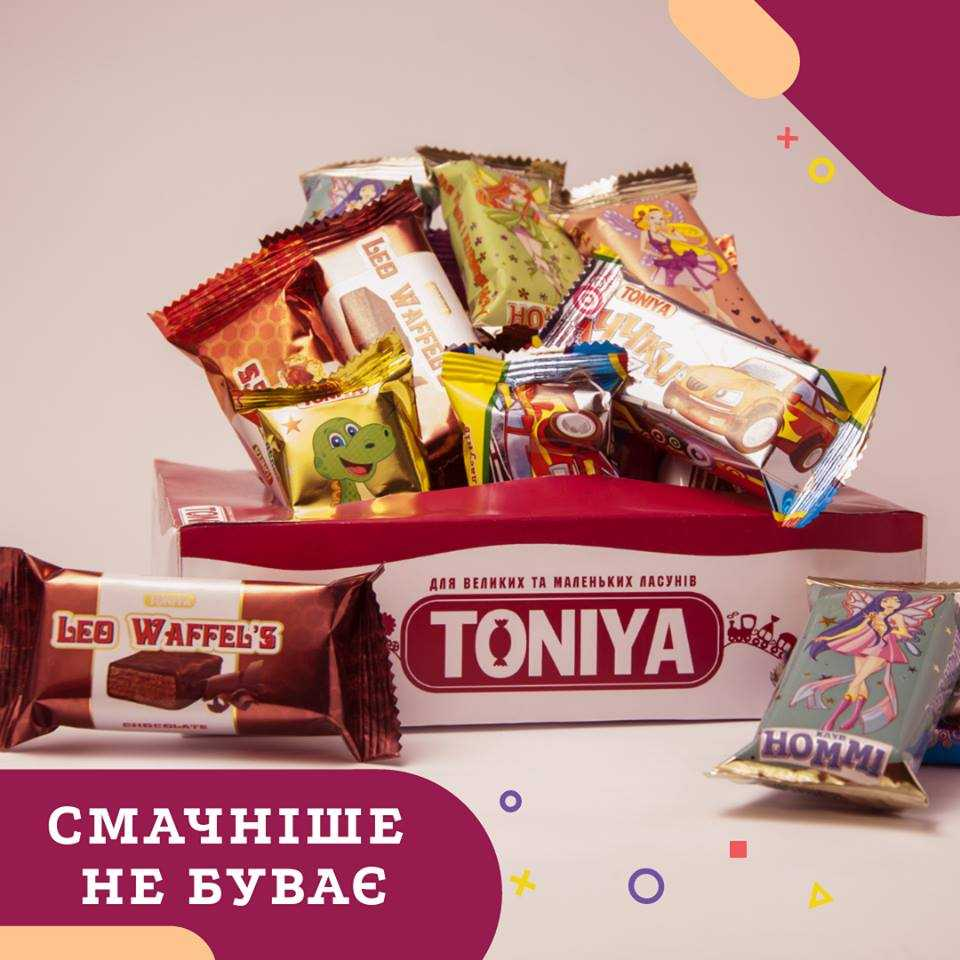 Солодка країна Toniya