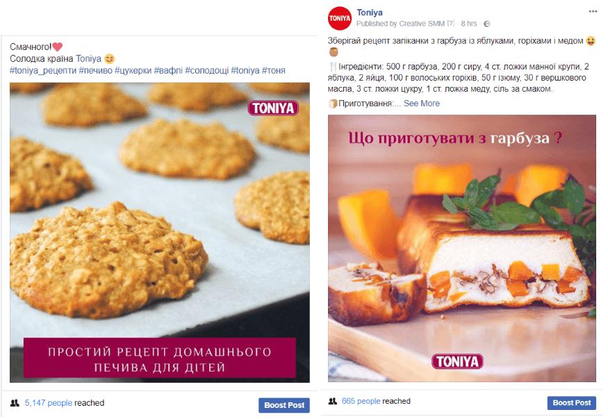 toniya рецепти